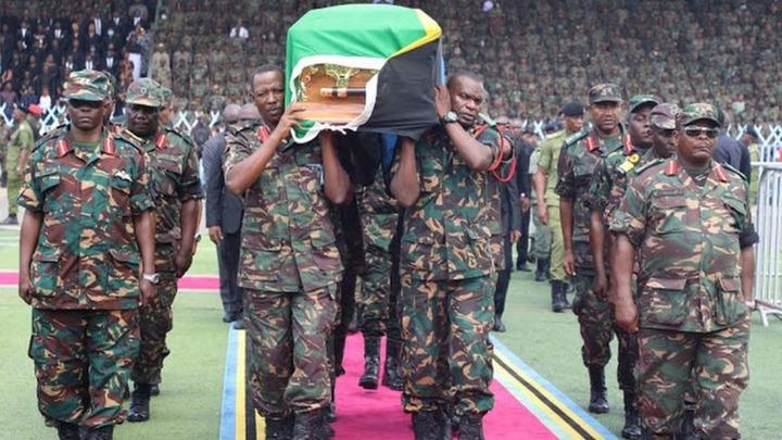 4514366244734fb3891b46cf7d5952c6?quality=uhq&resize=720 - Day 2: Sad Scenes From Tanzania As Their President, John Magufuli Funeral Rites Proceeds - Photos