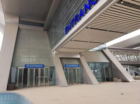 Reactions As Man Shares Pictures of Ebute Metta Train Station Completed By Buhari