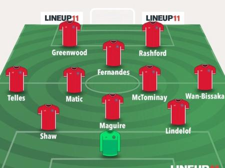 Official Manchester United Tactical 3-4-1-2 That Will Likely Thrash RB Leipzig To Top UCL Group