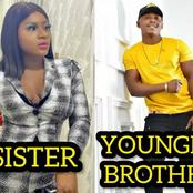 Destiny Etiko is Not a Twin But See Her Younger Brother who Looks very much Like Her (PHOTOS)