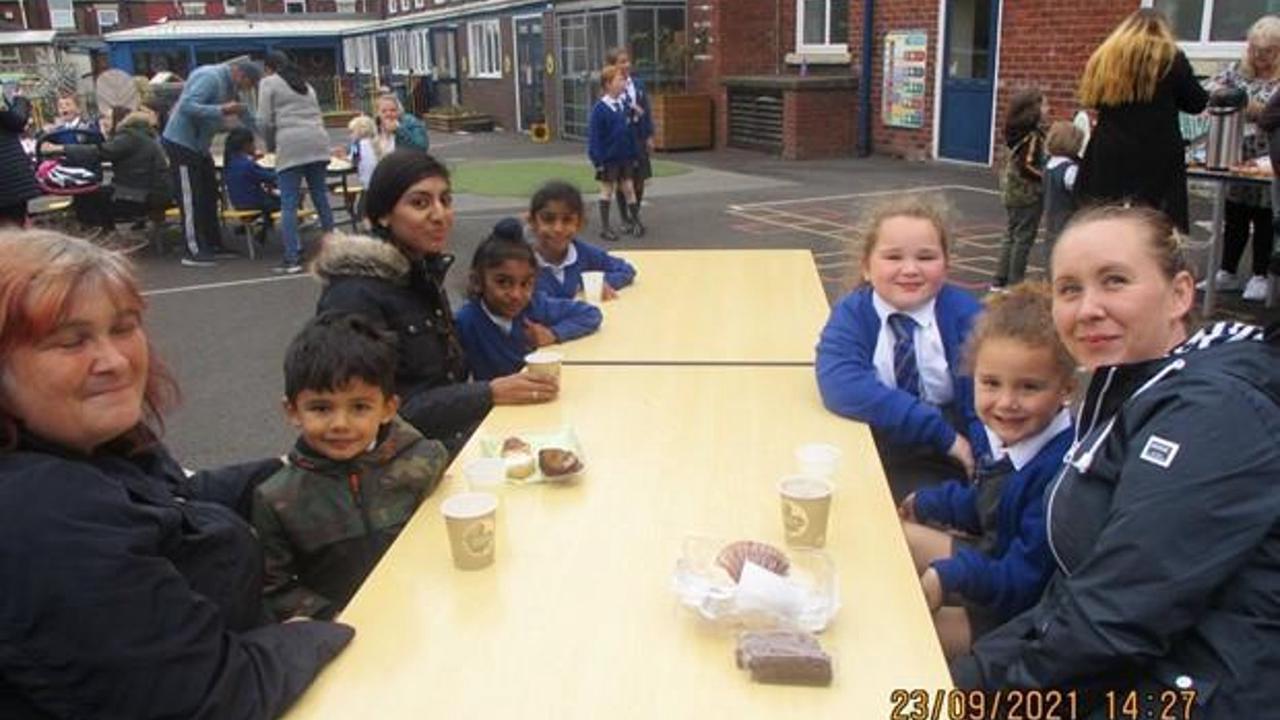 Eldon Primary School's Macmillan Coffee Morning is a sweet success