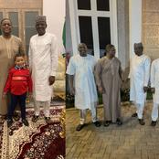 PHOTOS: FFK and Son, Prince Aragorn, Spent Night With Bashir Hadeja, Govs Matawalle & Tambuwal