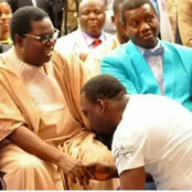 Photos Of Pasuma, Sir Shina Peter, Wasiu Ayinde, Waje, Banky W, Adesua, And Others Inside Church