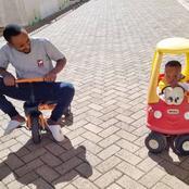 Kwani Umekua Mtoto Siku Hizi? Kabi Wa Jesus Questioned After He Was Spotted Doing This On His Photo