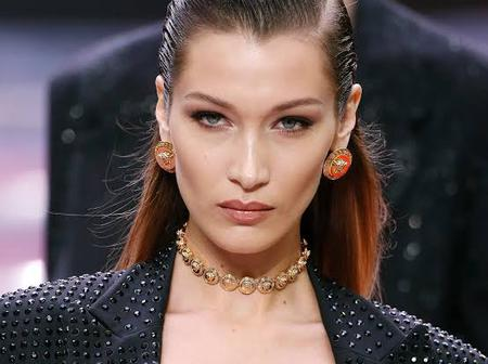 Check Out Photos Of Bella Hadid, The Woman With The Perfect Face.