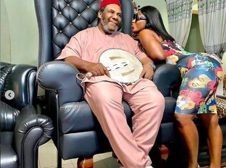 Check Out Lovely Photos Of Destiny Etiko With Pete Edochie, Harry B And Dr. Success.