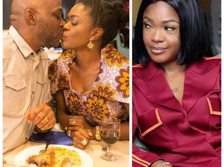After A fan criticized Omoni Oboli For Kissing RMD, Check Out Her Reply