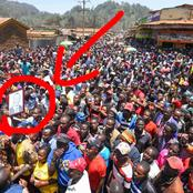 He Is A True Hustler, See What The Young Man Gifted DP Ruto While Marketing His Business In Igembe