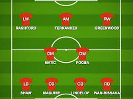 How Manchester United Would Lineup Against Tottenham Hotspur At Old Trafford
