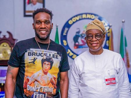 2nd Year in Office : Governor Oyetola To Host Ex-international in a Novelty Match.