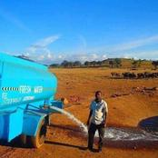Check Out What This Man Does Every Day To Provide Water To Thirsty Wild Animals In the Bush
