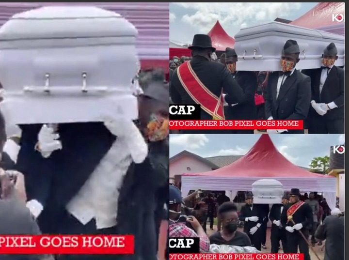 457154b5f78446cd8ecaa75ce71121d3?quality=uhq&resize=720 - The Moment The Popular Dancing Pallbearers Carried The Coffin Of Bob Pixel For Burial With A Display