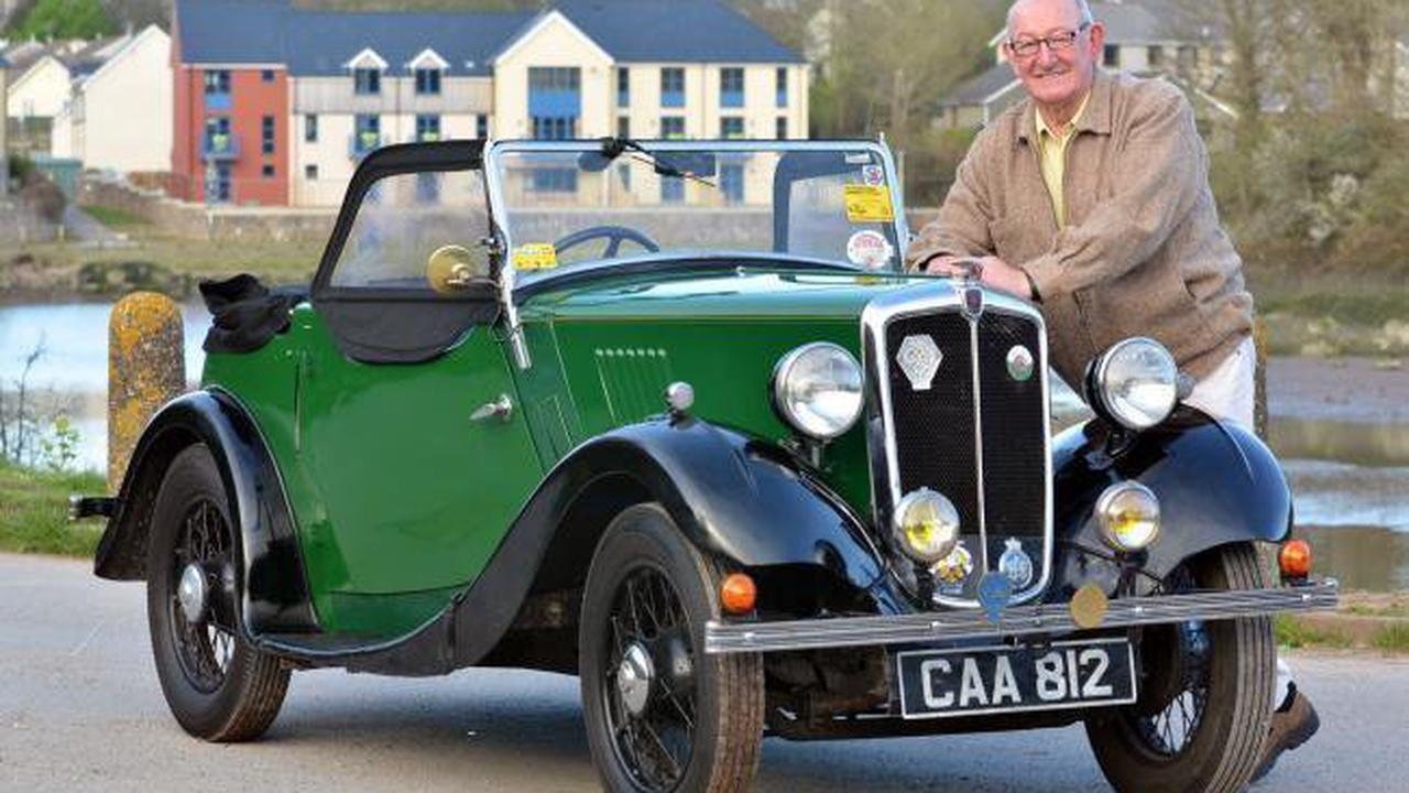 Watch out for Mal Powell's NHS charity car run this Sunday