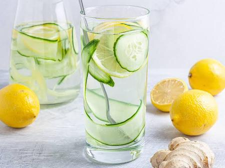 Real Benefits of Ginger, Lemon and Cucumber