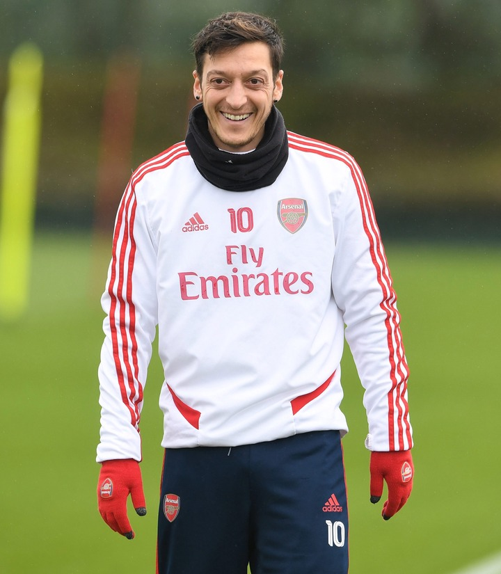 Arsenal star Mesut Ozil has send a classy message to fans following the Premier League's postponement