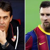 See The Statement Made By Sevilla Coach About Messi That Made Them Lose 2-0 To Barca Yesterday!