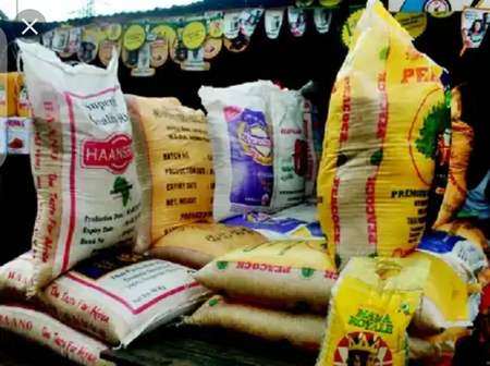 1 Bag Of Rice Is No Longer N27000, Checkout The Current Price