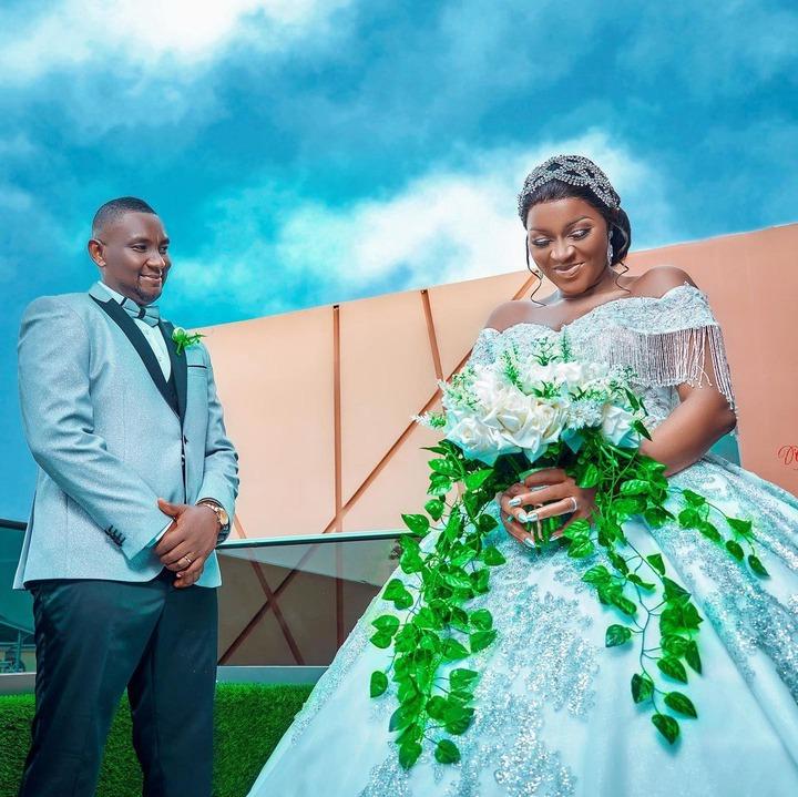 Photos from Chacha and Austin Eke's wedding anniversary.