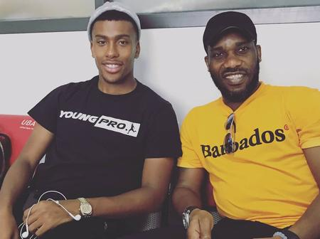 Iwobi hopes to be better than his famous Uncle Jay-Jay Okocha.