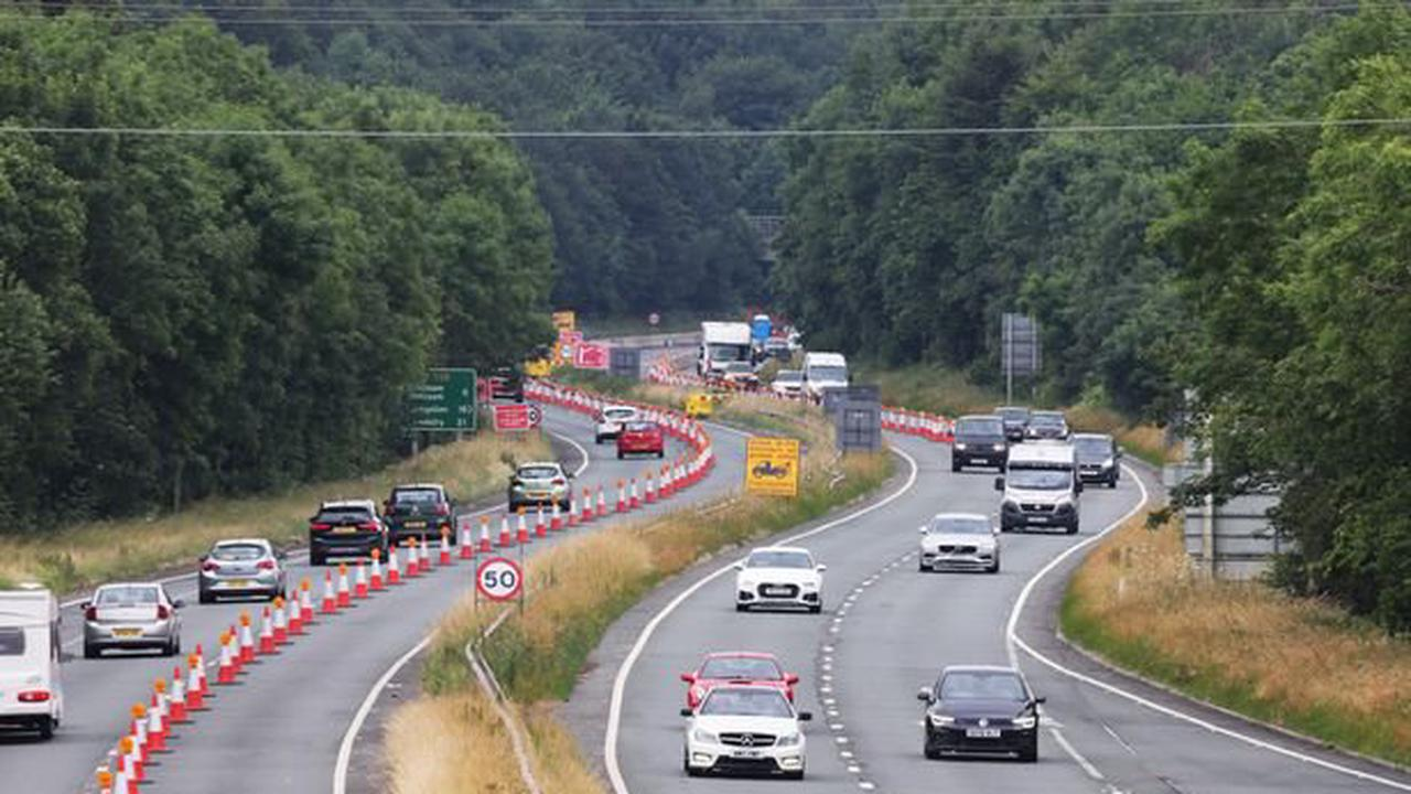 Key North Wales road set for five weeks of lane closures - but there is good news