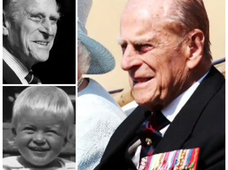 Throwback Photos Of His Royal Highness, Prince Philip Who Died This Morning
