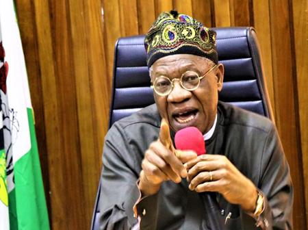 They Are Saying Nigeria's Corruption Rating Is Poor Because They Have Inaccurate Data- Lai Mohammed