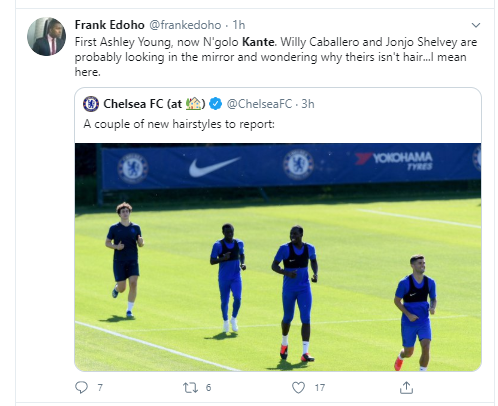 Football fans in shock as Chelsea