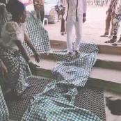 Onitsha Women Remove One Of Their Wrappers To Welcome Prophet Odumeje [VIDEO]