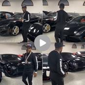 A fan said Floyd Mayweather's black car collection is not necessary, people are calling him jealous.