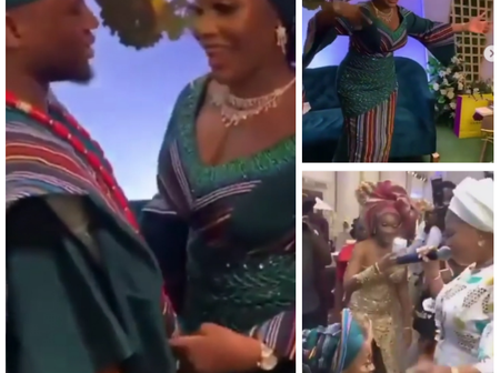After this bride saw her favourite artiste during her wedding celebration, check out what she did