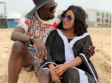 Adeniyi Johnson Shares Lovely Photos With Nollywood Actress, Mide Martins