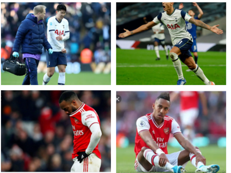 Happeng Now: Super Star Gets Injured In Arsenal - Tottenham Clash