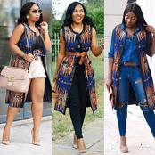 Different Fabulous Ways To Rock Your Ankara Kimono Tops For Corporate And Casual Outings