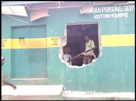 Prison Breaks In Nigeria.