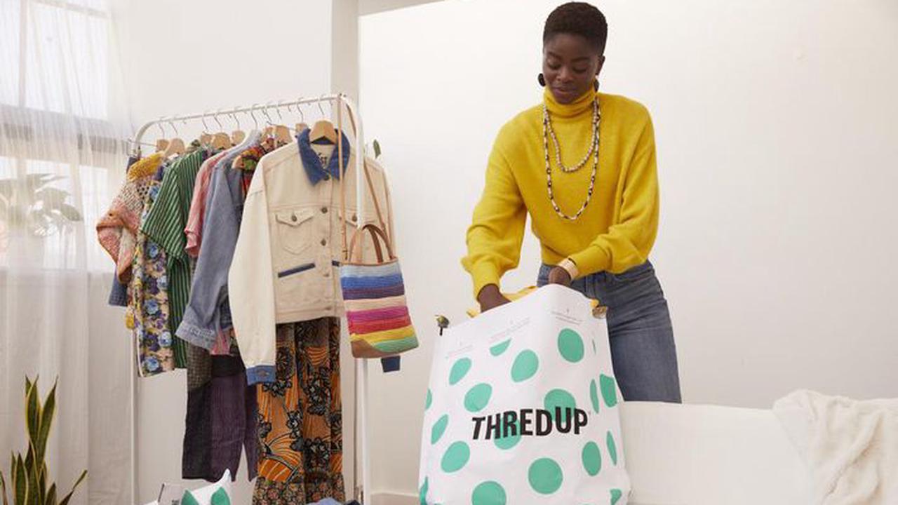 Second-hand retailer ThredUp's bigger loss sends shares tumbling