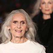 Daphne Selfe, un mannequin âgée de 92 ans