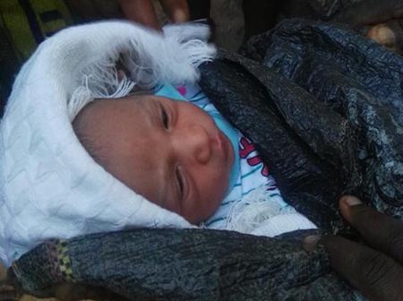 Baby Found Abandoned Inside A Sack By The Road Side