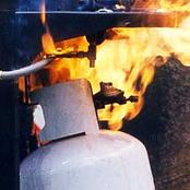 If your gas cylinder explode, Here are what you should immediately.
