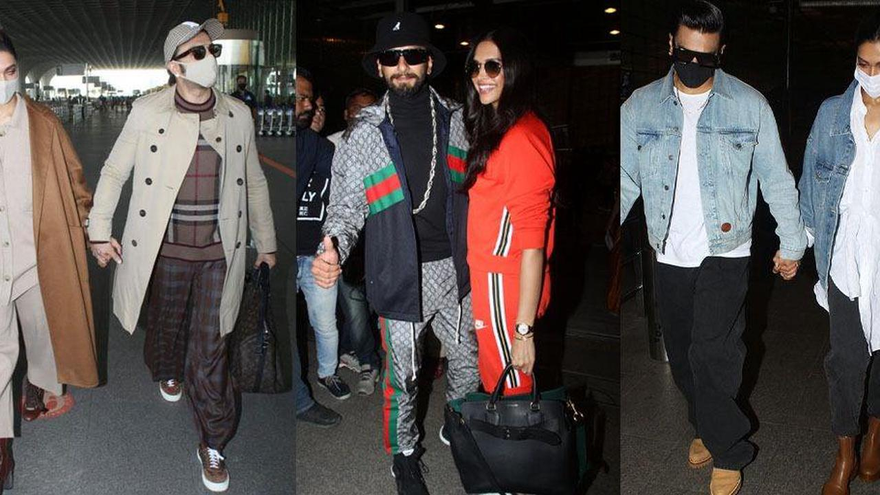 7 Times Deepika And Ranveer's Coordinated Outfits Made Us Feel Single AF