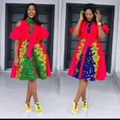 60 Ankara Skirts And Blouse, Long And Short Gowns Styles You Need To Sow Before Next Month