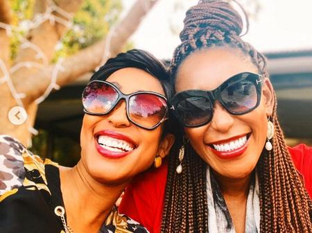 Kgomotso Christopher and Mampho Brescia's recent pictures leave their fans blown away.