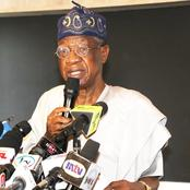 Unpatriotic Citizens Made Twitter Choose Ghana As African Headquarters -Lai Mohammed