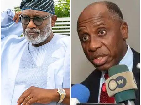 Today's Headlines: Gov Akeredolu described Tinubu as legendary, Amaechi speaks about women