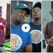 SMAN: Don Jazzy Catches Mr. Macaroni Giving Lady Money After Joining SMAN (VIDEO)