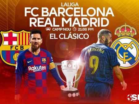 After Real madrid 3:1 win over Barcelona, here is their all time head-to-head
