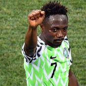 Super Eagles Captain Ahmed Musa makes sensational return to Nigeria professional football league