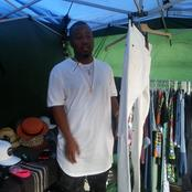Famous rapper Cassper nyovest before fame buying clothes at small street