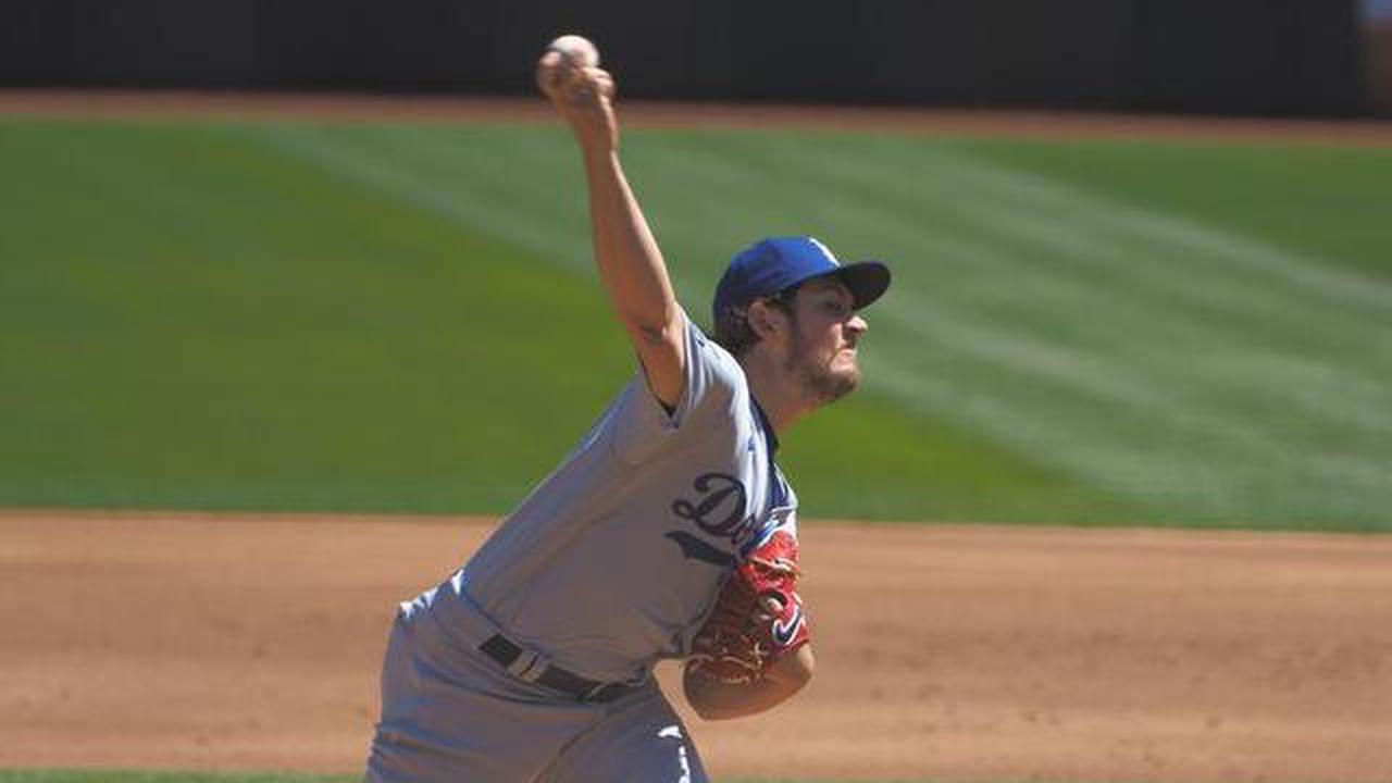 Report: MLB examining baseballs used by Dodgers' Trevor Bauer