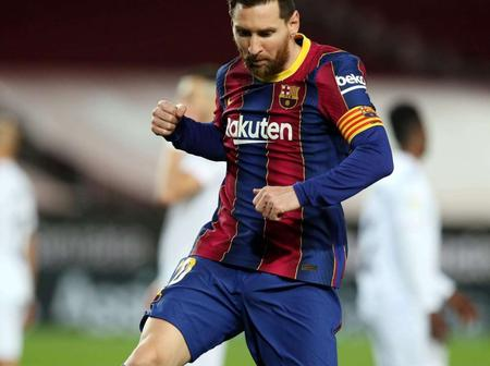 Talented in humility. See what Messi said about who is the best player in Barca's history