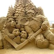 Checkout 40 Photos of Beautiful & Adorable Sculptures Made with Sand